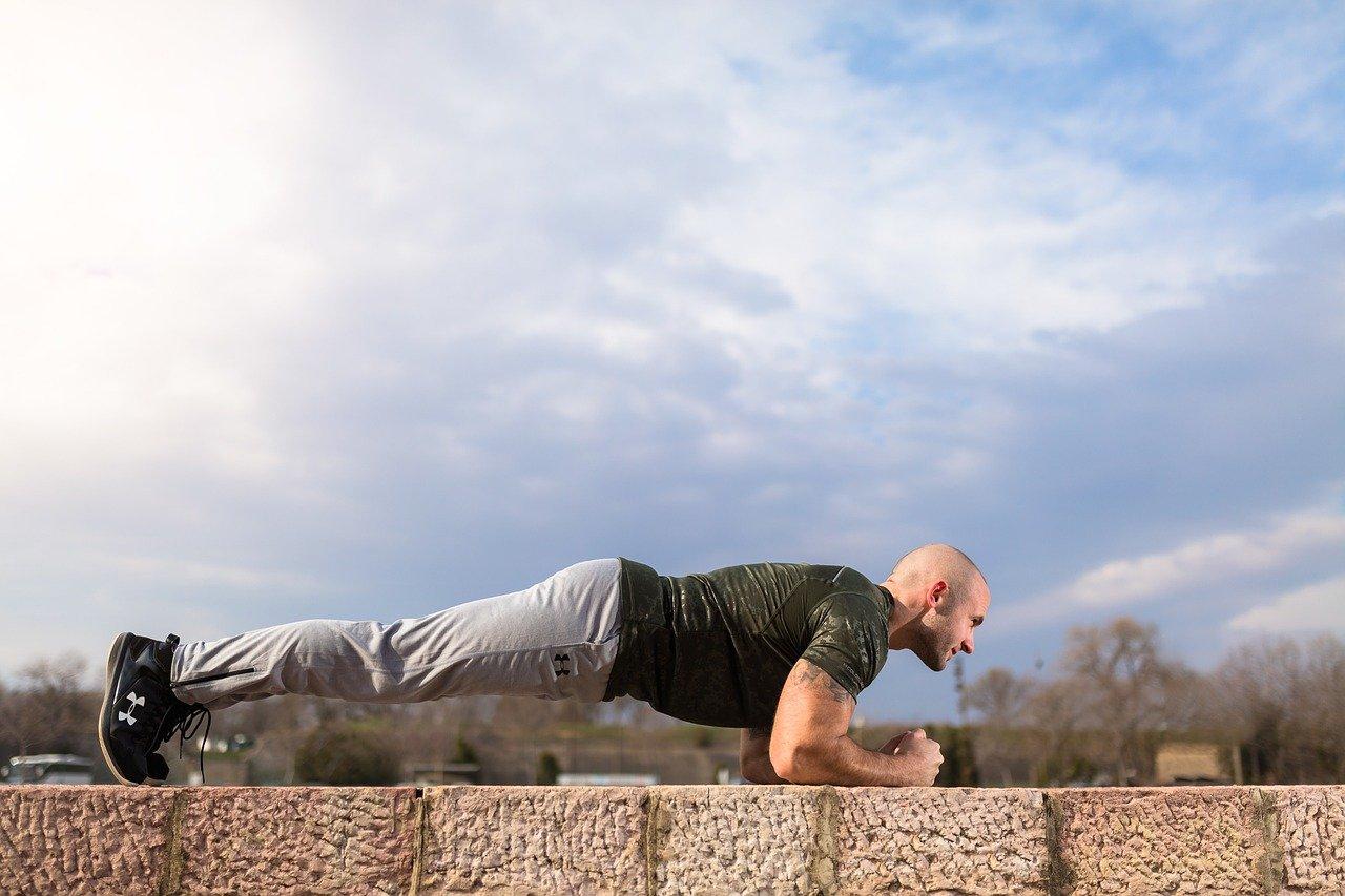 plank, abs, sport